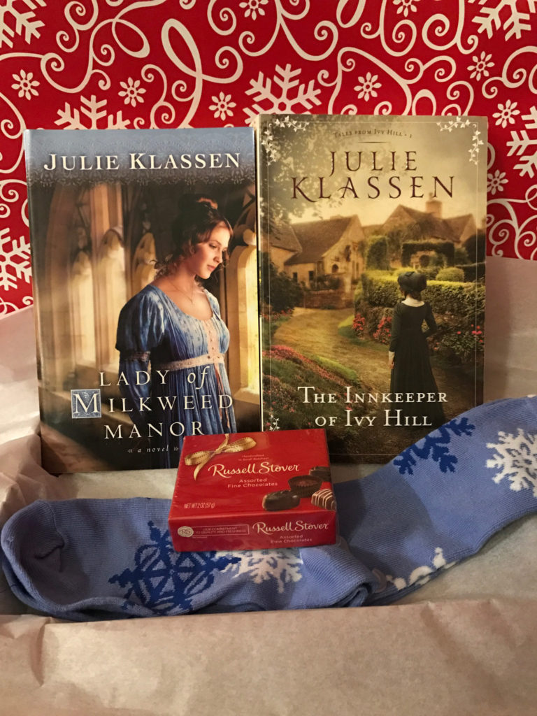 Christmas Giveaway Featuring Julie Klassen's Lady of Milkweed Manor and The Innkeeper of Ivy Hill