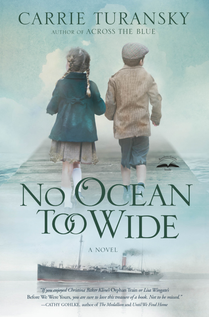Cover of No Ocean Too Wide by Carrie Turansky